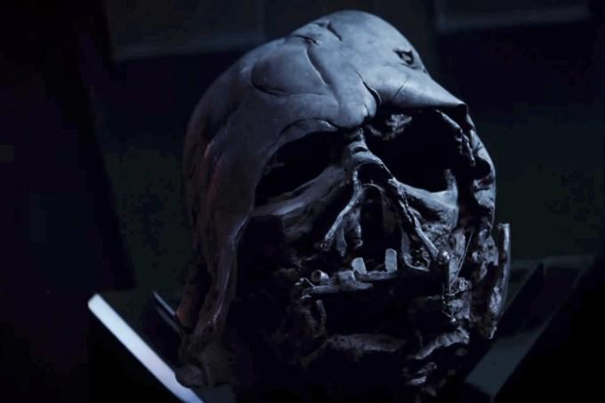 Przebudzenie Mocy Maska Darth Vader