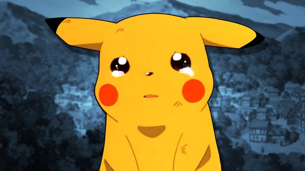 Crying Pikachu
